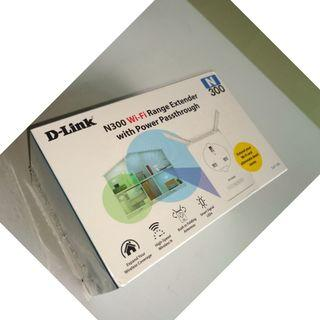 D-Link N300 Access Point / Range Extender with Antenna and Pass-Through