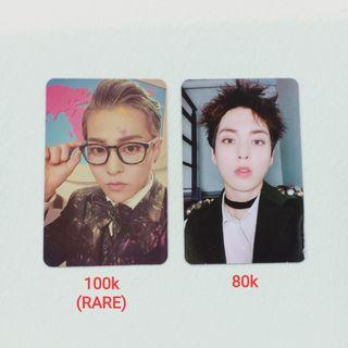 OFFICIAL PHOTOCARD EXO XIUMIN FROM HEY MAMA / DMUMT MODERATO ALBUM