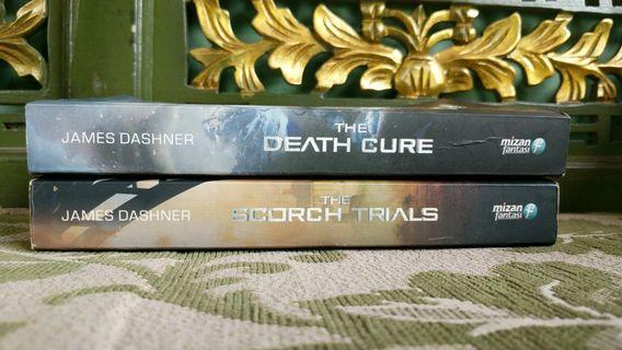 Novel James Dashner, The Scorch Trials dan The Death Cure