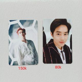 OFFICIAL PHOTOCARD EXO SUHO FROM COMING OVER / FOR LIFE ALBUM