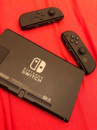Switch 手制 joy con 黑色(沒主機)