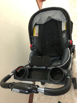 🚚 Graco SnugRide® Click Connect™ 35 Infant Car Seat