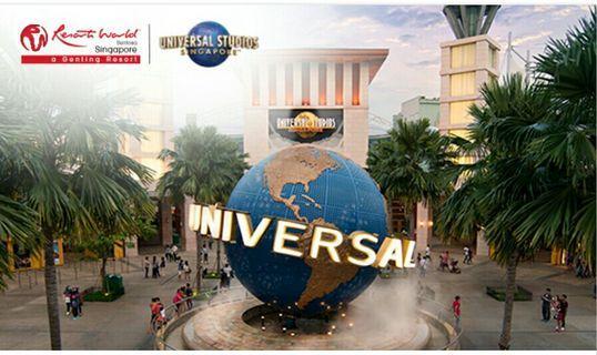 Universal Studios Singapore 3 adult tickets