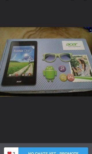 🚚 Brand New Acer 7 inch white wifi 16gb tablets for sale!