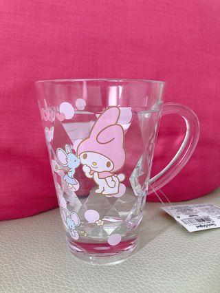 Sanrio 美樂蒂鑽石刻紋水杯