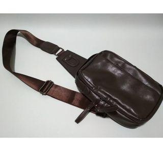 Chest Bag in PU Material (Coffee Colour)