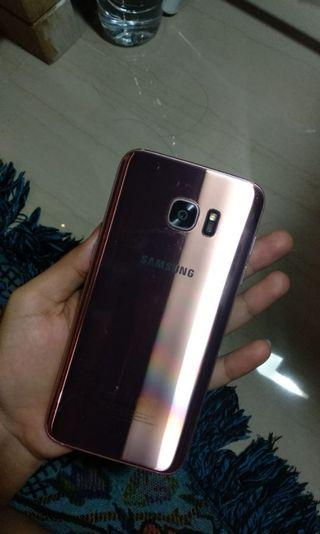 Samsung s7 edge rosegold