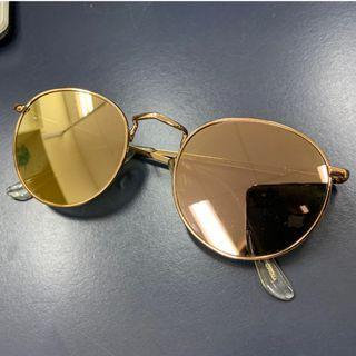 Womens Rose Gold Sunglasses (Brand MNG)