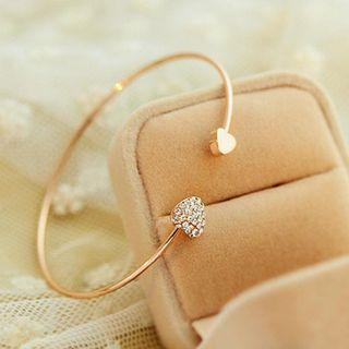 Hearts Bracelet Gold