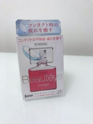 Santen Beauteye contact 日本玫瑰眼藥水