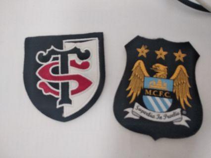 足球章(2個)