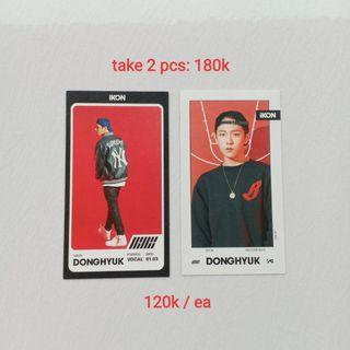 OFFICIAL PHOTOCARD IKON DONGHYUK (DK) FROM HALF DEBUT ALBUM