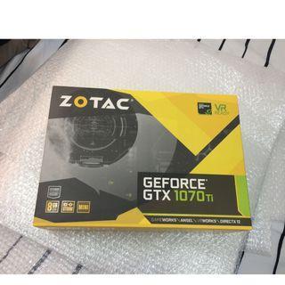 ZOTAC GTX 1070 Ti 8GB DDR5