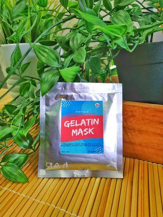 Masker gelatin