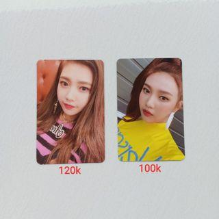 OFFICIAL PHOTOCARD RED VELVET JOY FROM ROOKIE / SUMMER MAGIC ALBUM