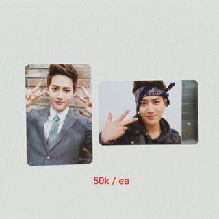 (100k dpt 2 PC) OFFICIAL PHOTOCARD EXO SUHO GROWL ATHIUM