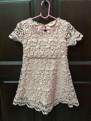 Zara Lace Dress 4y