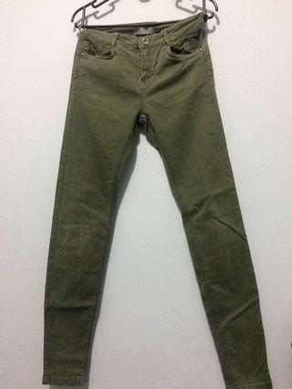 Green Army Jeans Bershka