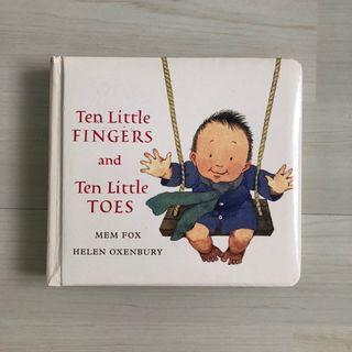 🚚 Ten little fingers and toes by Mem Fox