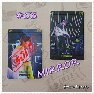 53期 [Yes!Card] Mirror/Anson Lo - 立體卡 ( 每張 )