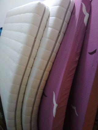 4 single mattress for free!