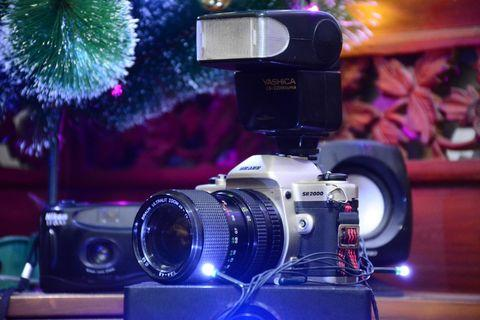 Vintage Camera Analog Braun sr2000 (Bukan Sony/Canon/Nikon/Fuji)