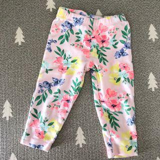 🚚 18 months baby girl Floral Pants leggings