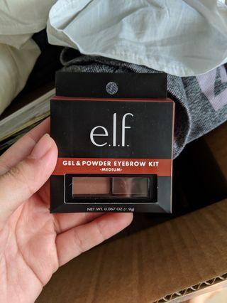 🚚 BNIB Elf Gel and Powder Eyebrow Kit (Medium)