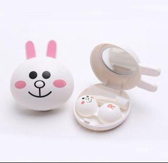 Line cony contact lens case