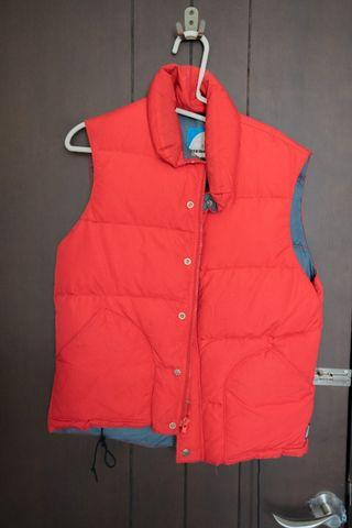 Sierra Designs Goose Down Vest Original Soft Shell