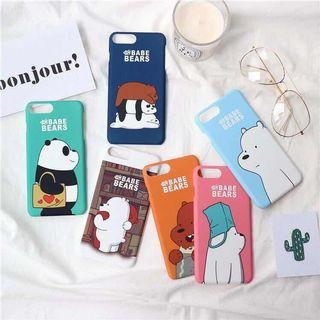 🚚 [instock] WE BARE BEAR iPhone Case