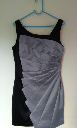 Party Black and Silver mini dress
