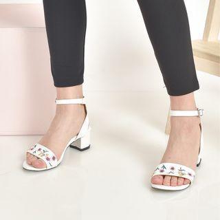 Alodina heels white