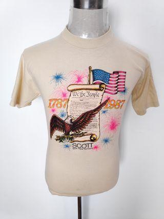 VINTAGE EAGLE 1987 TSHIRT