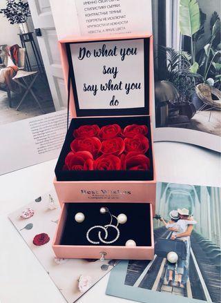 高級首飾化妝品禮物盒