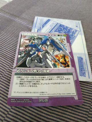 Gundam card