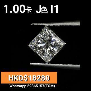 Gia 鑽石 公主方 1卡