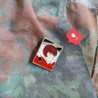 BTS Maknae Line Enamel pin / badge jungkook jimin taehyung v jk jm