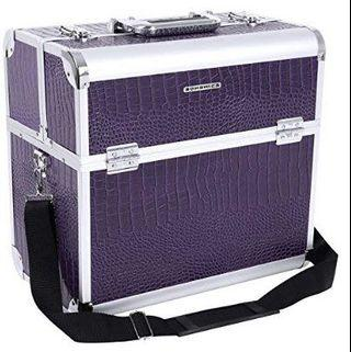 (E2167) Songmics Make up Storage Cosmetic case croco pattern JBC229