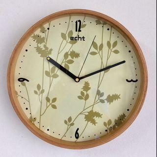 ECHT Brand Wall Clock Switzerland 30cm Dia