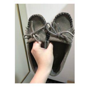 灰色MINNETONKA鞋 (莫卡辛)