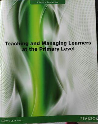 Teaching and Managing Learners at the Primary Level (NIE PGDE)