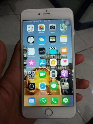 Wts iPhone 6plus 64gb silver
