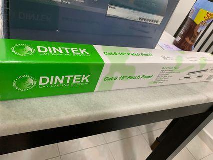Dintek Cat 6 24 port patch panel