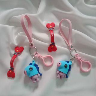 Keychain and Headset
