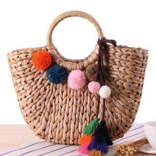 Straw Bag Handbags Tassel 👜