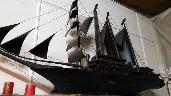 紫檀木風水寶船