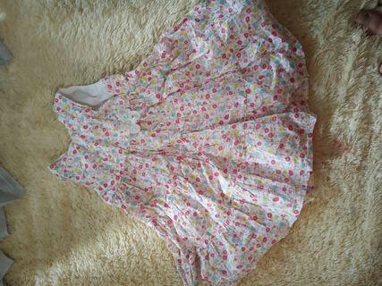 Dress bayi perempuan 6 bulan