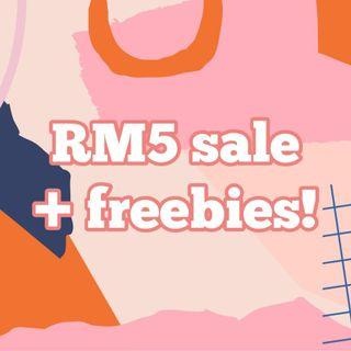 RM 5 Clearance Sales!