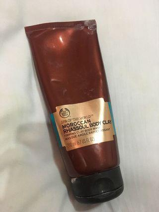 Clay body mask - The body shop